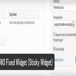 Q2W3 Fixed Widgetのインストール方法と使い方【画像解説】